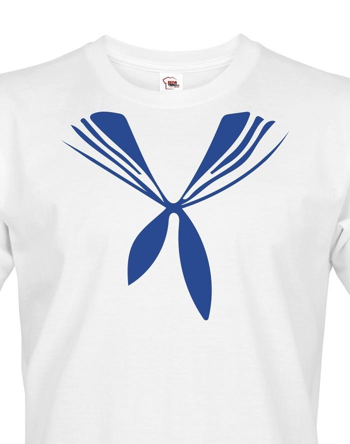 Pánské tričko Námořnický límec