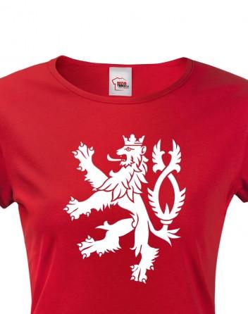 Dámské tričko Český lev