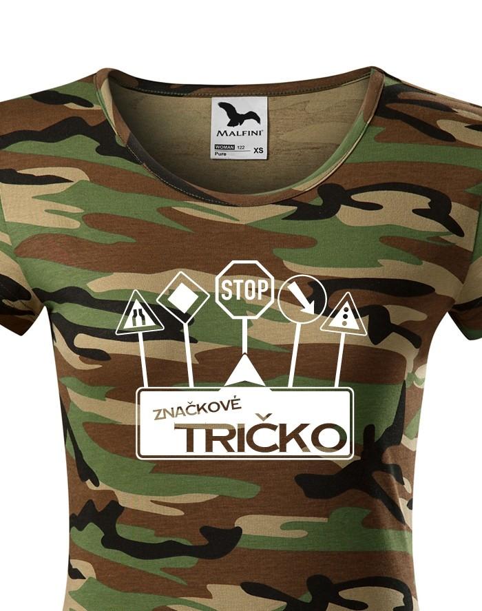 Vtipné tričko s potiskem Značkové tričko - ideální dárek pro rebely