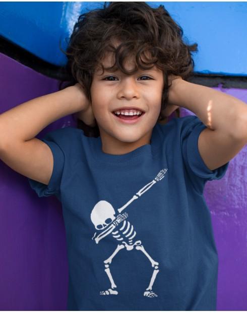 Dětské tričko s potiskem kostry