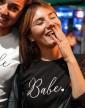 Dámské tričko na rozlučku Babe