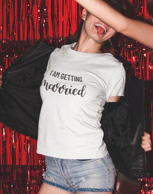Dámské rozlučkové tričko pro nevěstu
