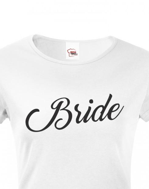 Dámské rozlučkové tričko Bride 3