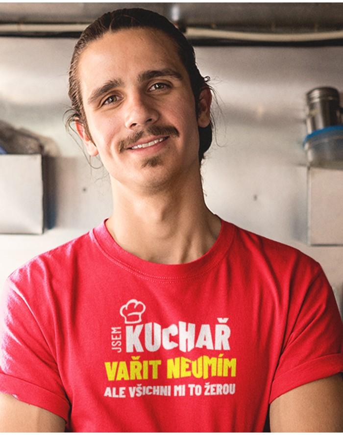 Pánské tričko Jsem kuchař