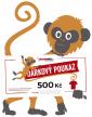 Tištěný dárkový poukaz 500 Kč