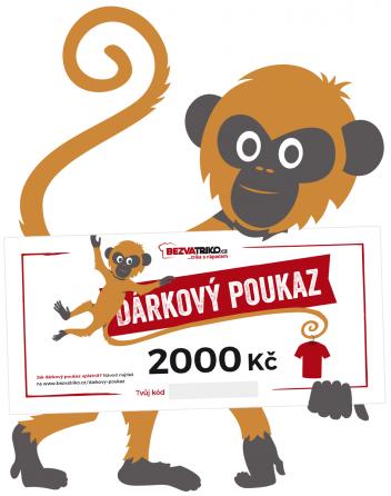 Tištěný dárkový poukaz 2000 Kč