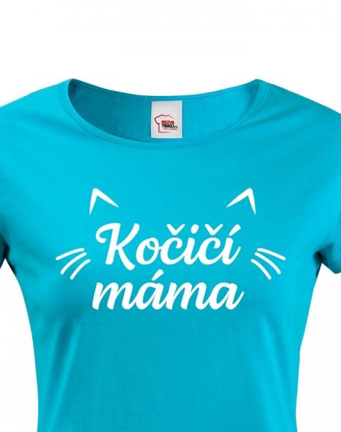 Dámské tričko kočičí máma