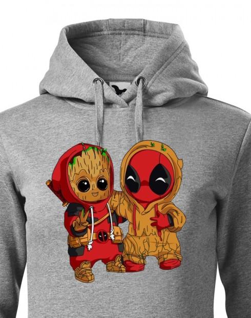 Dámská mikina Deadpool a Groot
