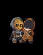 Dámská mikina Batman a Groot