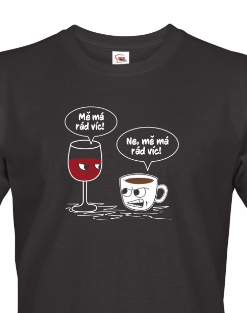 Pánské tričko Mě má rád