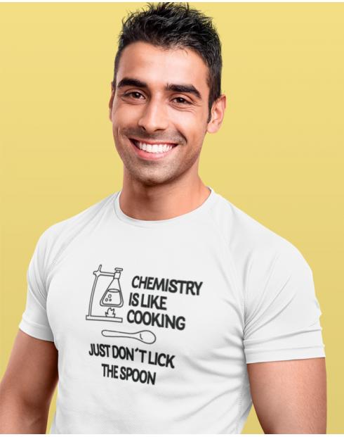 Pánské tričko Chemistry is like Cooking