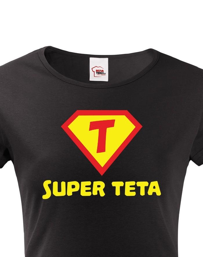 Dámské tričko Super teta