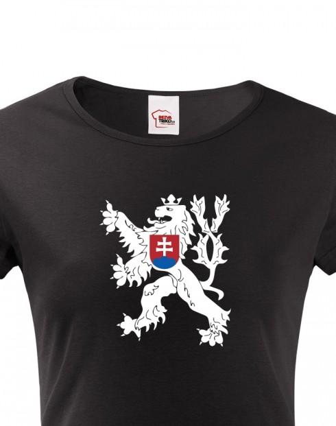 Dámské tričko Státní znak Československa