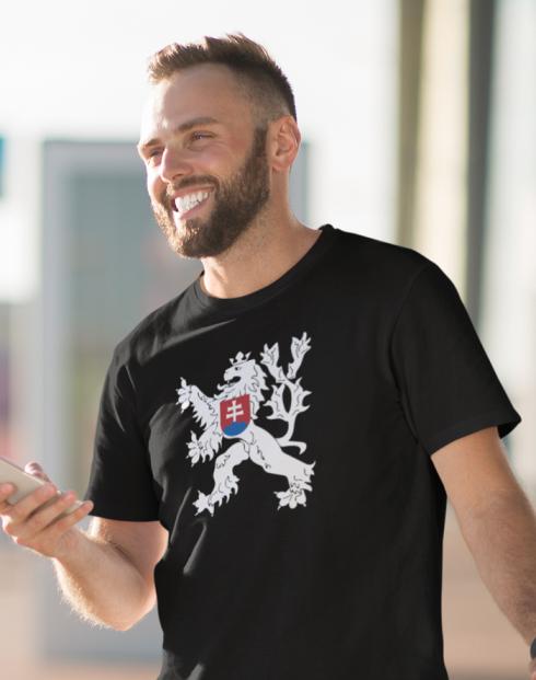 Pánské tričko Státní znak Československa