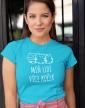 Dámské tričko Míň lidí více koček