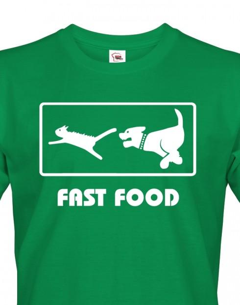 Pánské tričko Fast Food