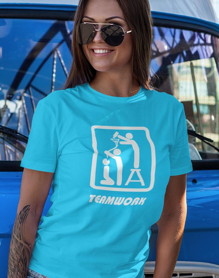 Dámské tričko Teamwork