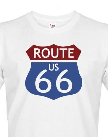 Pánské tričko - Route 66