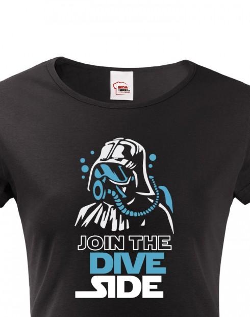 Dámské tričko - Join the Dive Side
