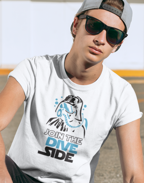 Pánské tričko - Join the Dive Side