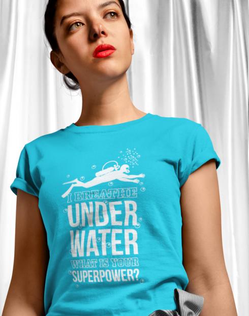 Dámské tričko - Underwater