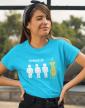 Dámské tričko - Normální lidé - ja (potápěč)
