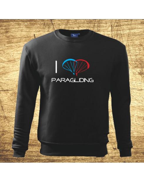 I love paragliding