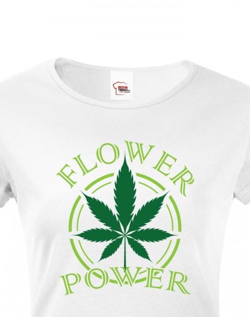Dámské tričko - Flower power