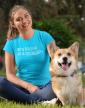 Dámské tričko -80 % bavlna, 20 % psí chlupy