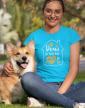 Dámské tričko - Doma je tam, kde je pes