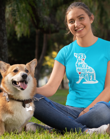 Dámské tričko -Pes je můj nejlepší přítel