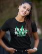 Dámské tričko - Smoke weed