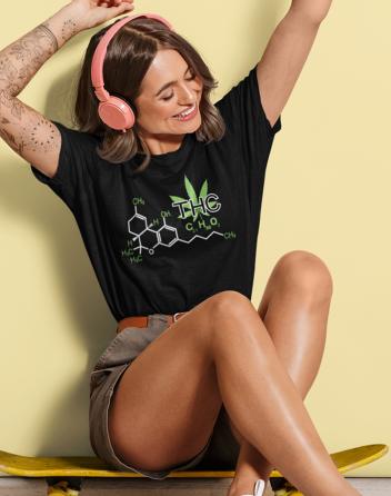 Dámské tričko - THC