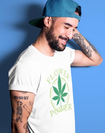 Pánské tričko - Flower power