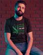 Pánské tričko -Growing weed is my super power