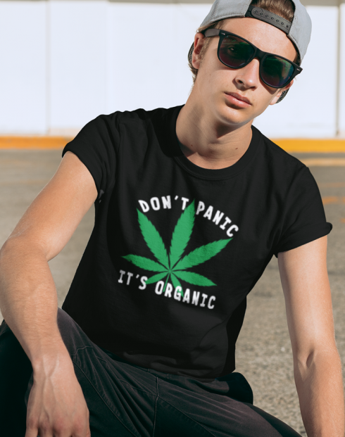 Pánské tričko - Don't Panic it's organic