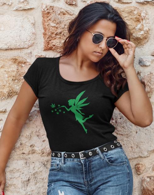Dámské tričko -Fairy weed