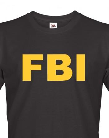Pánské tričko - FBI