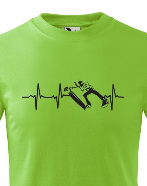 Dětské tričko - Freestyle koloběžka