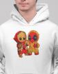 Pánská mikina Deadpool a Groot