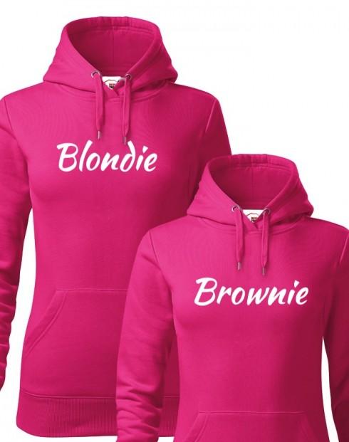 Dámske mikiny Blondie a Brownie