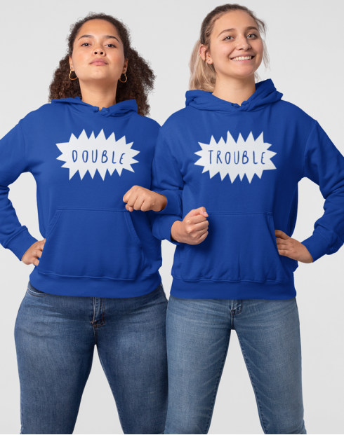 Dámská BFF mikina Double trouble