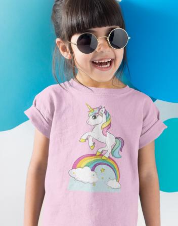 Dětské tričko s jednorožcem