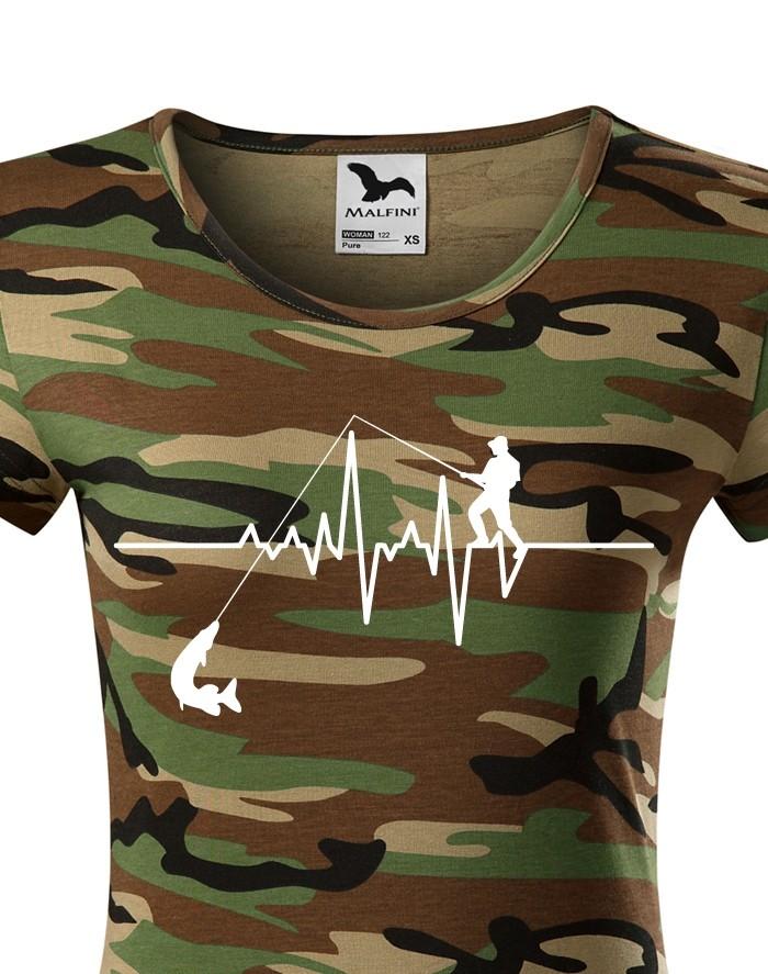 Tričko- Tep rybářky