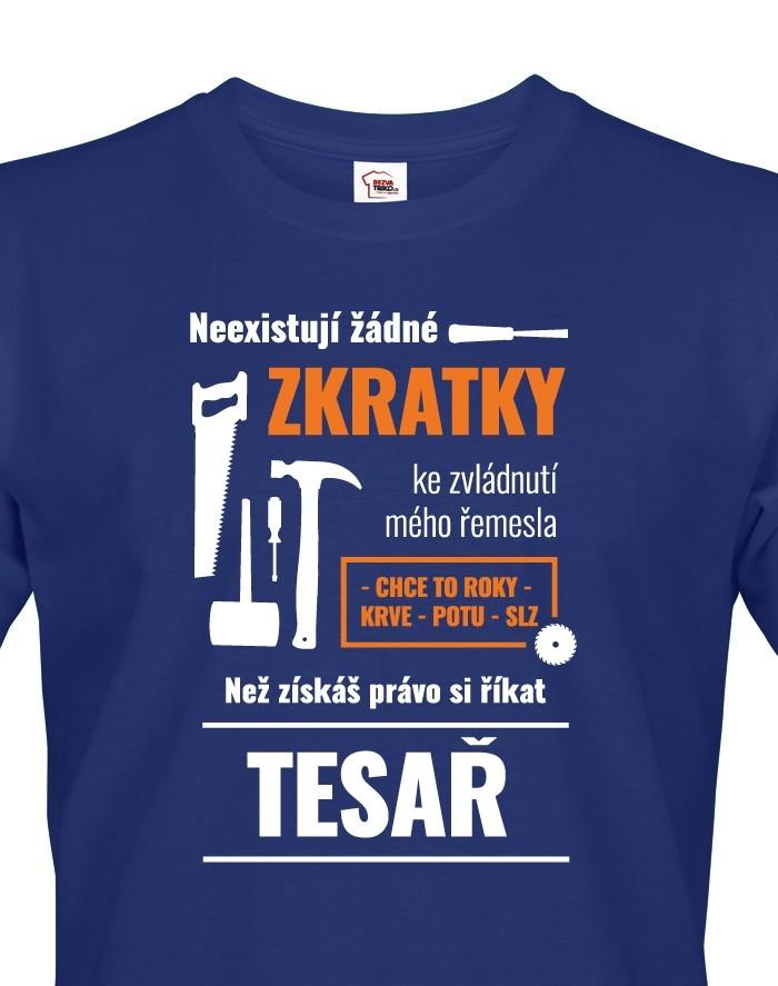 Pánské tričko pro tesaře
