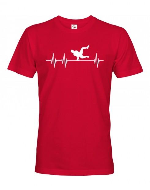 Pánske tričko - Tep Parkour