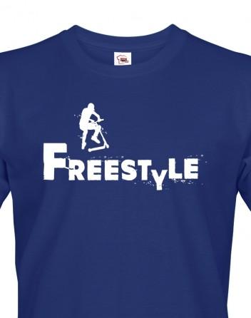 Pánské tričko - Freestyle koloběžka