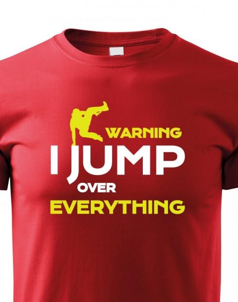 Dětské tričko - Parkour jump