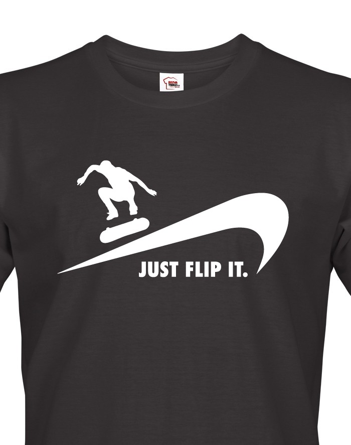 Pánské tričko - Just flip it