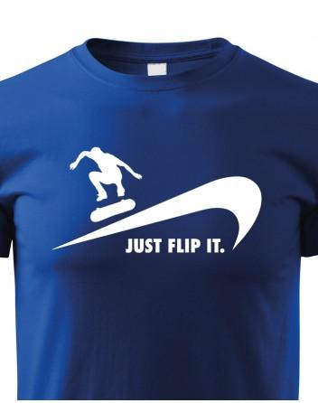 Dětské tričko - Just flip it